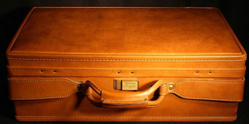Found on Ebay: Vintage Hartmann Leather Suitcase | The Permanent Press