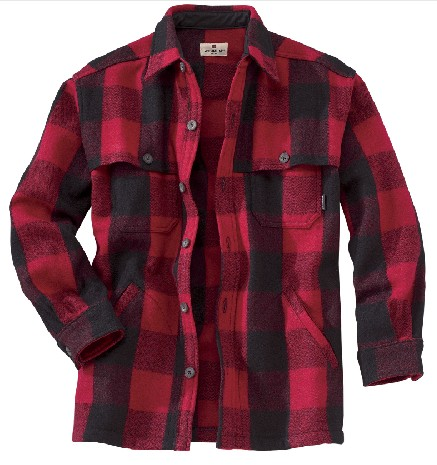 Woolrich Buffalo Plaid Stag Shirt