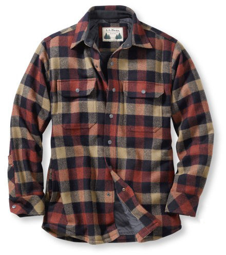 L.L. Bean's Take on Buffalo Plaid, The Allagash Shirt