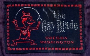The Gay Blade Label